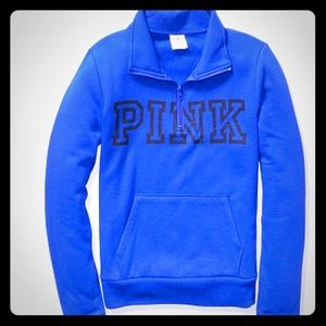 Victoria secret pink everyday lounge quarter zip